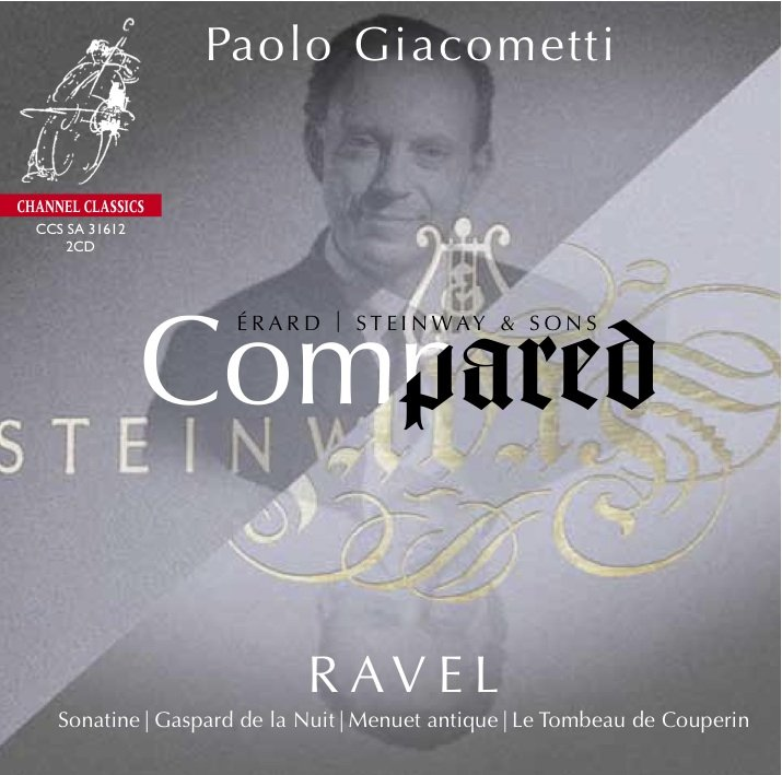 M. Ravel: Compared; Sonatine, Gaspard de la Nuit, Menuet antique, Le Tombeau de Couperin